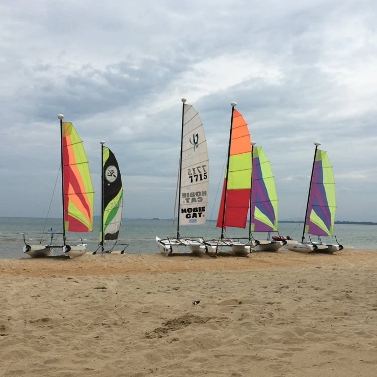 Club Med Cherating Review - Sailing