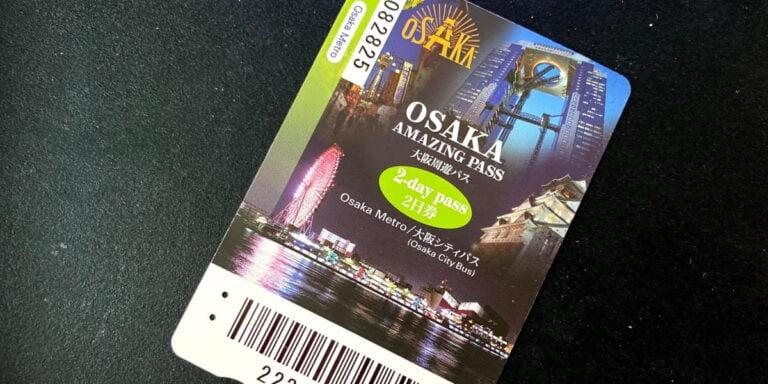Benefits of Osaka Amazing Pass