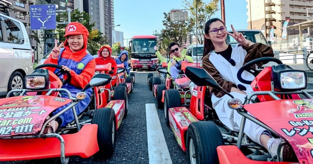 International Driving License is required even for go-kart in Japan.